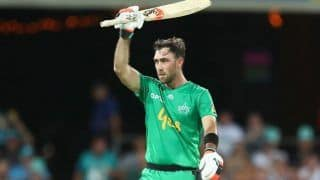 Glenn Maxwell Justifies Bumper IPL Auction Deal With Smashing Half-Century in BBL For Melbourne Stars | WATCH VIDEO