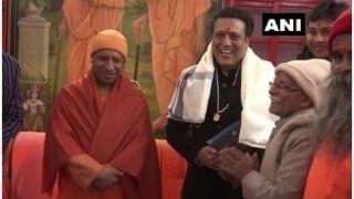 अभिनेता गोविंदा ने की सीएम योगी आदित्यनाथ से मुलाकात, गोरखनाथ मंदिर में की पूजा-अर्चना