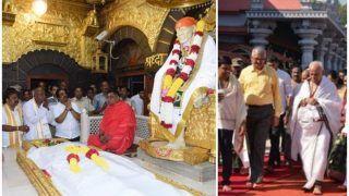 कर्नाटक उपचुनाव: मतणगणना की पूर्व संध्या पर देवगौड़ा साईंबाबा तो येदियुरप्पा पहुंचे मंजुनाथ स्वामी मंदिर