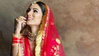 Television Hotness Hina Khan's Latest Bridal Look in Pink Lehenga is Perfect For This Wedding Season
