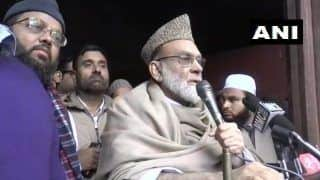 'Protest Peacefully, CAA Not Against Indian Muslims,' Delhi Shahi Imam Calls For Calm