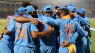 Indvswi indian cricket team and west indies cricket team reach cuttack for third final odi 3883238