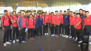'खिताब बचाओ' अभियान के लिए भारतीय क्रिकेट टीम U19 World Cup के लिए दक्षिण अफ्रीका रवाना