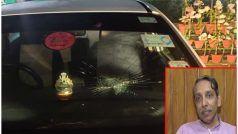 JNU के कुलपति पर कैंपस में छात्रों ने किया हमला करने का प्रयास, गाड़ी के शीशे तोड़े