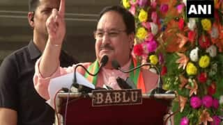 Delhi Assembly Election 2020: JP Nadda Slams Opposition For Supporting Protests Against CAA