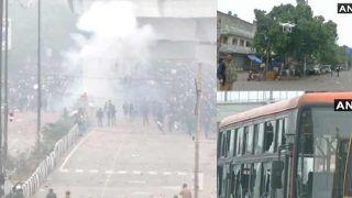 Delhi Violence: जाफराबाद-सीलमपुर हिंसा में कई घायल, पुलिस वाहन में लगाई आग