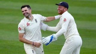 Anderson, Bairstow Return as England Name Test Squad For South Africa Tour