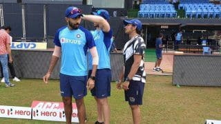 Visakhapatnam odi jasprit bumrah practice with team with his old bowling action 3880913
