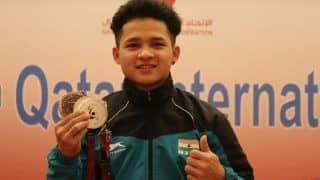 Weightlifter Jeremy Lalrinnunga Smashes 12 International Records to Clinch Silver at Qatar International Cup