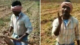 Viral Video: Karnataka Farmer Sings Justin Bieber's Song 'Baby' And it is Winning Hearts on Internet