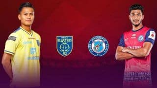 Indian Premier League 2019-20 Match Preview: Kerala Blasters FC Look to End Winless Run as Jamshedpur FC Eye Top Spot