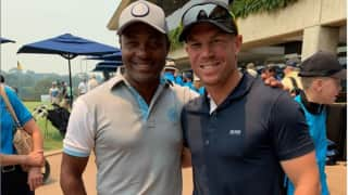 David warner should have been given opportunity to go after my world record brian lara