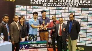 India's Lakshya Sen Wins Bangladesh International Challenge to Claim Fifth Title of Season