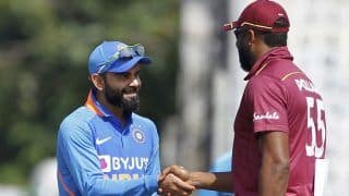 India vs West Indies 2019, 2nd ODI, Live Cricket Score: India Aim to Draw Level, West Indies Eye Unassailable Lead