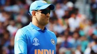 Sourav ganguly please ask ms dhoni about participation in t20 world cup 2020