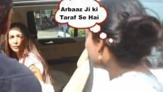 'Arbaaz Ji Ki Taraf Se': Malaika Arora Gets Annoyed at Flower Vendor For Selling Gajra to Her Using Arbaaz Khan's Name