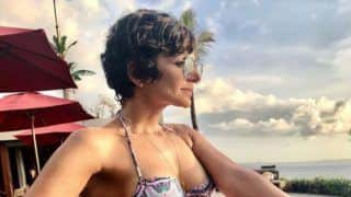 Mandira Bedi Looks Smouldering Hot in Bikini as She Flaunts Her Washboard Abs During Bali Vacay