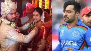 Manish pandey marriage rashid khan takes a dig on srh friend manish for not inviting in marriage