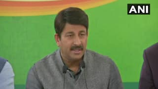 AAP-led Government Now 'Trying to Save' Four Convicts in Nirbhaya Case, Says Manoj Tiwari