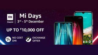 Mi Days Sale का आज आखिरी दिन, 10,000 रुपये तक के डिस्काउंट पर खरीदें शाओमी फोन