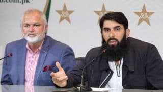 Pakistan Head Coach Misbah-Ul-Haq Snaps at Journalist For Questioning National Team's Poor Performances in Australia, Says Don't Have Magic Wand to Make Everything Right Instantly