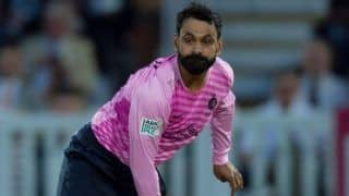 Mohammed hafeez suspended from bowling in english crickets domestic competitions after his action was found illegal 3888793