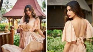 Mouni Roy Looks Ultra Hot in Backless Beige Gown And we Can't Stop Gushing Over Her