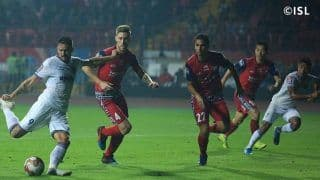 Indian Super League 2019-20: Jamshedpur FC Score Late to Steal a Point From Chennaiyin FC