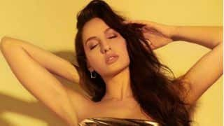 Canadian Beauty Nora Fatehi's Latest Look in Golden-Leopard Print Dress is Hotness Personified