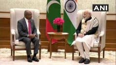 मजबूत, लोकतांत्रिक, समृद्ध और शांतिपूर्ण मालदीव के लिए भारत प्रतिबद्ध: PM मोदी