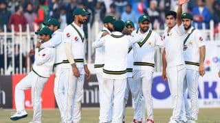 1st Test: Pakistan Pacers Star as Sri Lanka Finish Day 1 at 202/5 in Rawalpindi