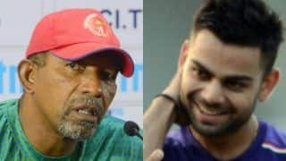 Phil simmons west indies bowlers shouldnt get too scared of virat kohli