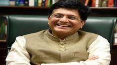 रेलवे में तीन लाख से ज्यादा पद खाली, भर्ती प्रक्रिया शुरू: रेल मंत्री पीयूष गोयल