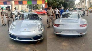 अहमदाबाद में बना चालान का नया रिकॉर्ड, 2 करोड़ की लग्जरी कार पर लगा 10 लाख का जुर्माना