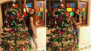 Malayalam Hotness Priya Prakash Varrier Kick-starts Her Christmas Celebration With Friends And Family