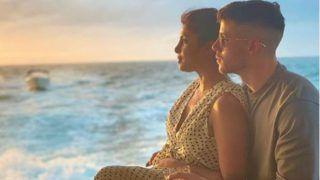समंदर किनारे निक जोनस के साथ प्रियंका चोपड़ा ने बिताई रंगीन शाम, रोमांटिक है फोटो