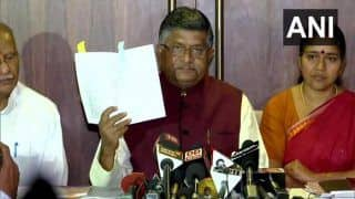 'NPR is Compendium of Usual Residents, Nothing to do With Citizenship,' Clarifies RS Prasad