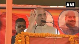 Some Used to Mock us, But None Can Stop us From Building Lord Ram Temple: Rajnath Singh