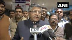 Law Minister Ravi Shankar Prasad Urges CJI & Other Judges to Ensure Quick Disposal of Rape Cases