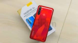 Realme 5s, Realme 5 updates rolling out with bug fixes, new Android security patch and more
