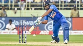 Rohit Sharma Joins Sourav Ganguly and David Warner in This Elite List