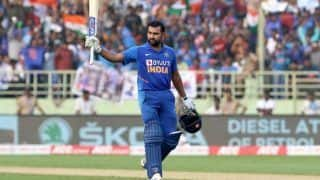 India vs West Indies 2nd ODI Match Report: Rohit Sharma, KL Rahul Score Hundreds; Kuldeep Yadav Claims Hat-Trick as India Beat West Indies by 107 Runs to Level Series 1-1 in Vizag