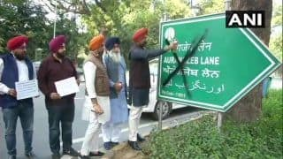 DSGMC Protests in Delhi, Demands Removal of Aurangzeb's Name From Books, Roads
