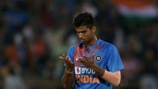 Washington Sundar is excited by Powerplay specialist role in T20 cricket