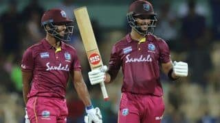 IND vs WI 1st ODI Match Report: Shimron Hetmyer, Shai Hope Hit Centuries as West Indies Beat India by 8 wickets to Take 1-0 Lead