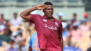 IPL 2020 Auction: After Fierce Bidding War, Sheldon Cottrell Sold to KXIP For Rs.8.50 Crore, Dale Steyn Remains Unsold
