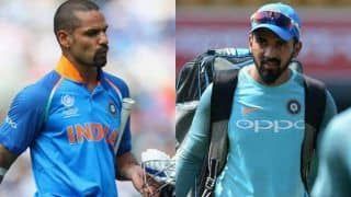I am happy that kl rahul did well in my absence says shikhar dhawan 3888387