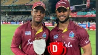 India vs west indies its a good feeling because the last time i got a hundred in india we lost the gamesays shimron hetmyer 3879061