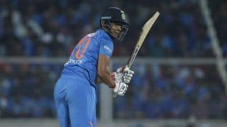 2nd T20I: Shivam Dube Hits Maiden Fifty to Drive India to 170/7 against West Indies