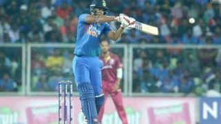 Ind vs wi shivam dube believes he can hit six in any ground